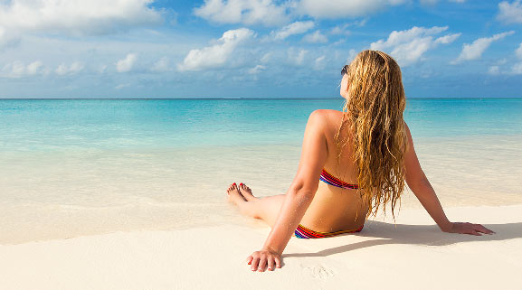 First Strike Charters - Relax on private beach